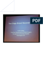 Two Stage Breast Reconstruction