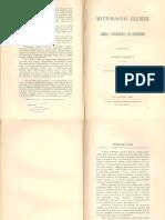 Kozma Ferencz - Mythologiai elemek a székely népköltészet és népéletben (1882)