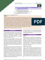 antilithiatic activity of kalanchoe pinnata