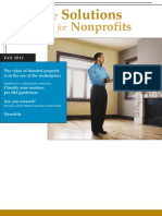 Profitable Solutions for Nonprofits - Fall 2012