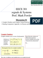 Complex Numbers and Complex-Valued Functions