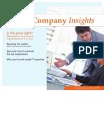 Public Company Insights - October November 2012