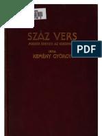 Kemény György - Száz vers; magyar énekek az idegenben (1908)