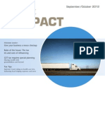 Tax Impact - September October 2012