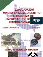 Exploración Minera Bajo El Esquema de to en Bolsa