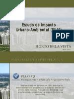 Estudo de Impacto Urbano Ambiental (EIUA) do Horto Bela Vista, Salvador, BA - Audiência Pública