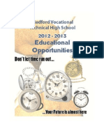 Medford Voke-Tech Educational Opportunities Handbook 2012-13