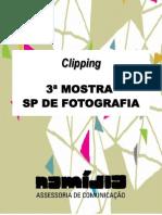 Clipping 3ª Mostra SP de Fotografia