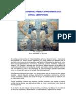 7.La literatura sapiencial - F†bulas y proverbios en Mesopotamia