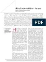 Diagnosis and Evaluation of Heart Failure