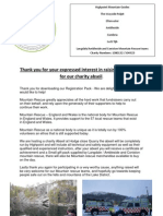 Charity Abseil Package(Full)