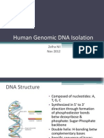 Human Genomic DNA Isolation