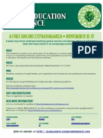 2012 Global Education Conference Poster