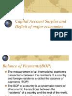Capital Account Surplus & Deficit