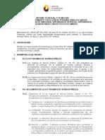 Informe Tecnico de Seleccion Operarios