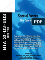 US Army - Special Forces Dive Operations (2010) GTA 31-02-003