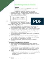 Pasture Production Publication #19 - Water Management on Pastures