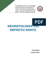Trabajo de Monografia de Neumatologia Del Espiritu Santo