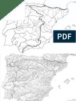 Relleu i Hidrografia Península Ibèrica (A3)