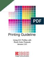 Printing Guideline v2 ricoh aficio 240