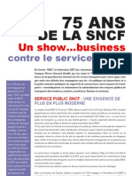 Tract 75 Ans Sncf