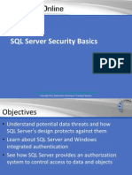 Sql Server Security Basics