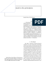 Emílio Peluso Neder Meyer - O Caráter Normativo dos Princípios