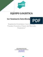 Logistica SEMINARIO REGULACIÓN ECONÓMICA