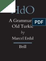 A Grammar of Old Turkic
