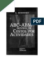 ABC ABM - Gestion de Costos Por Actividades - Bendersky - Costes