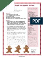 Polar Express Activities - Gingerbread Cookies
