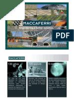 maccaferri - acciones de ecoeficiencia