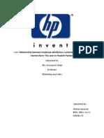 MOS- HP Case Summary