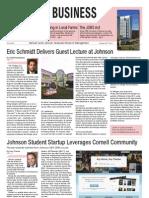 Cornell Business Journal, October 2012