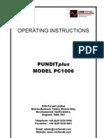 PUNDITplus Manual