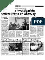 Incetivan Investigación Universitaria en Abancay