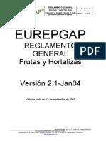 EUROGAP reglamento