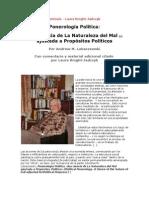 Ponerología Política(PATOCRACIA)