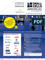 Small Cells Americas 2012 Brochure October