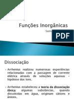 Funções Inorgânicas - Ácidos
