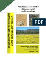 Small File Pest Risk Assessment ALMU