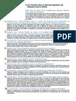 LAS 10 MENTIRAS DE LUIS FORTUÑO SOBRE EL HISTORIAL LEGISLATIVO DE ALEJANDRO GARCÍA PADILLA
