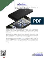 iPhone 5 llegará a México el próximo 1 de noviembre