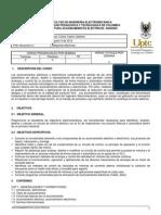 Programa Curso Accionamientos 2012-2
