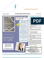 Flying High Newsletter Nov/Dec 2012 - Unity by The Shore, New Jersey