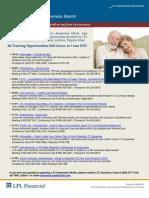 Long Term Care Awareness Month