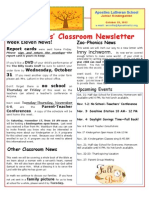 Week 11 Newsletter