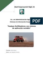 - Fertilizadoras Con Dosis Variable - Juan Fournier (AAG194)