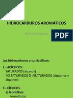 HIDROCARBUROS AROMÁTICOS presentación