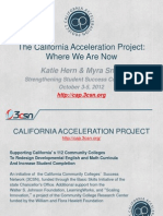 California Acceleration Project